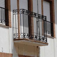 Taller de forja artesanal jj castro - Balcones de forja antiguos ...